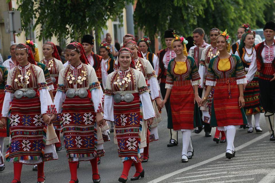 Nemzetközi Folklórnapok Folkvonulás