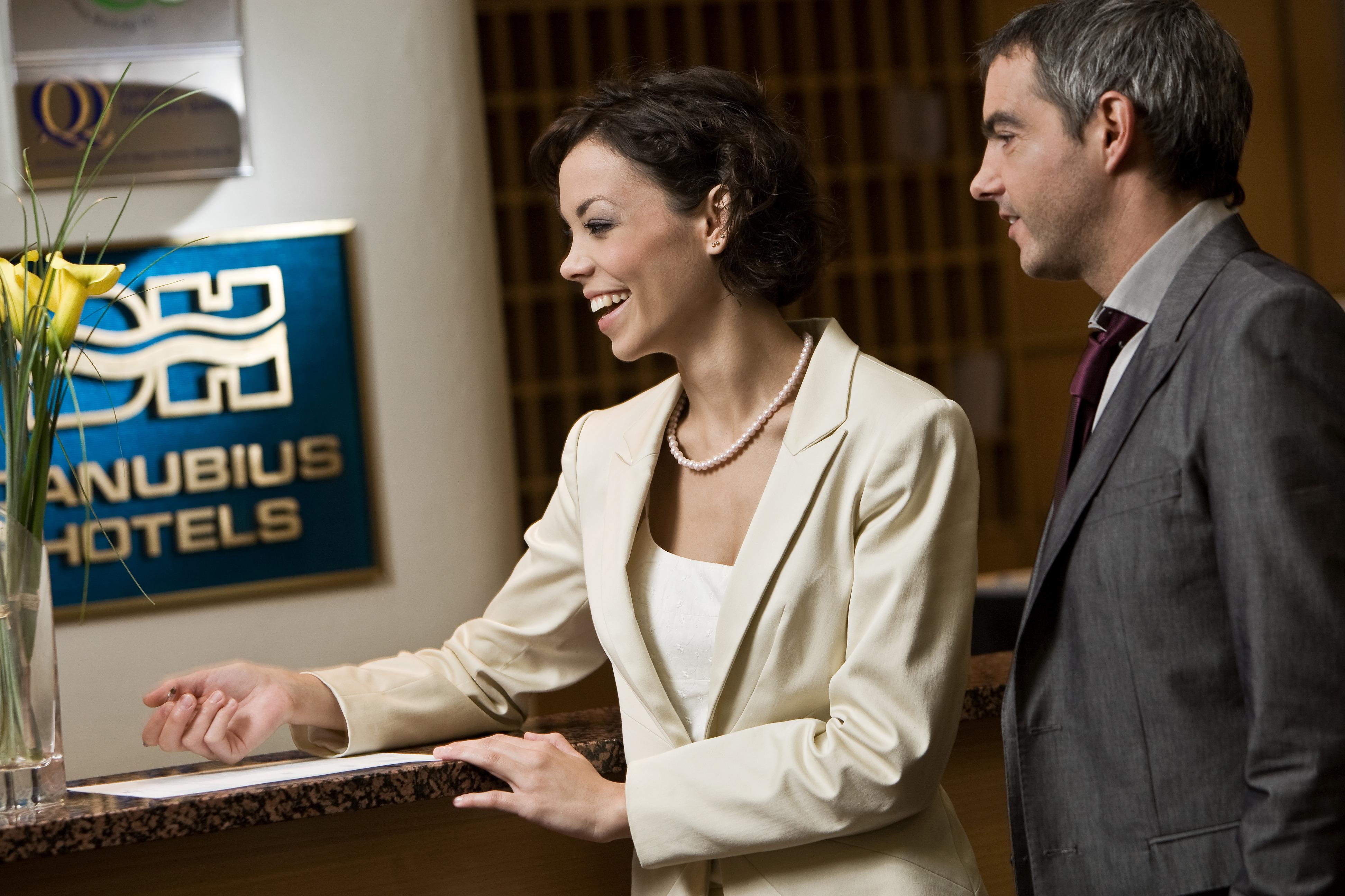 Danubius Hotels recepció
