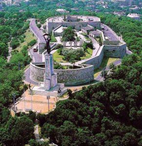 Citadella a Gellrét-hegy tetején