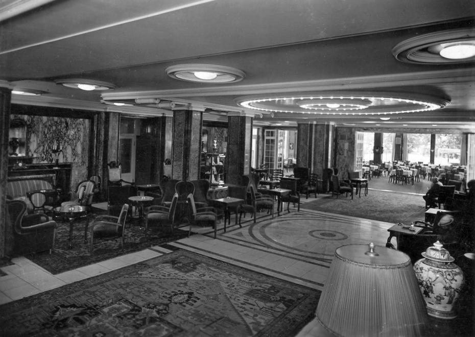 A margitszigeti Nagyszálló a századforduló idején