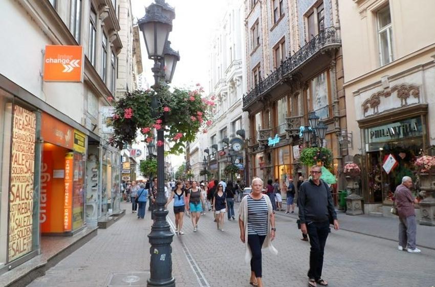 séták a belvárosban