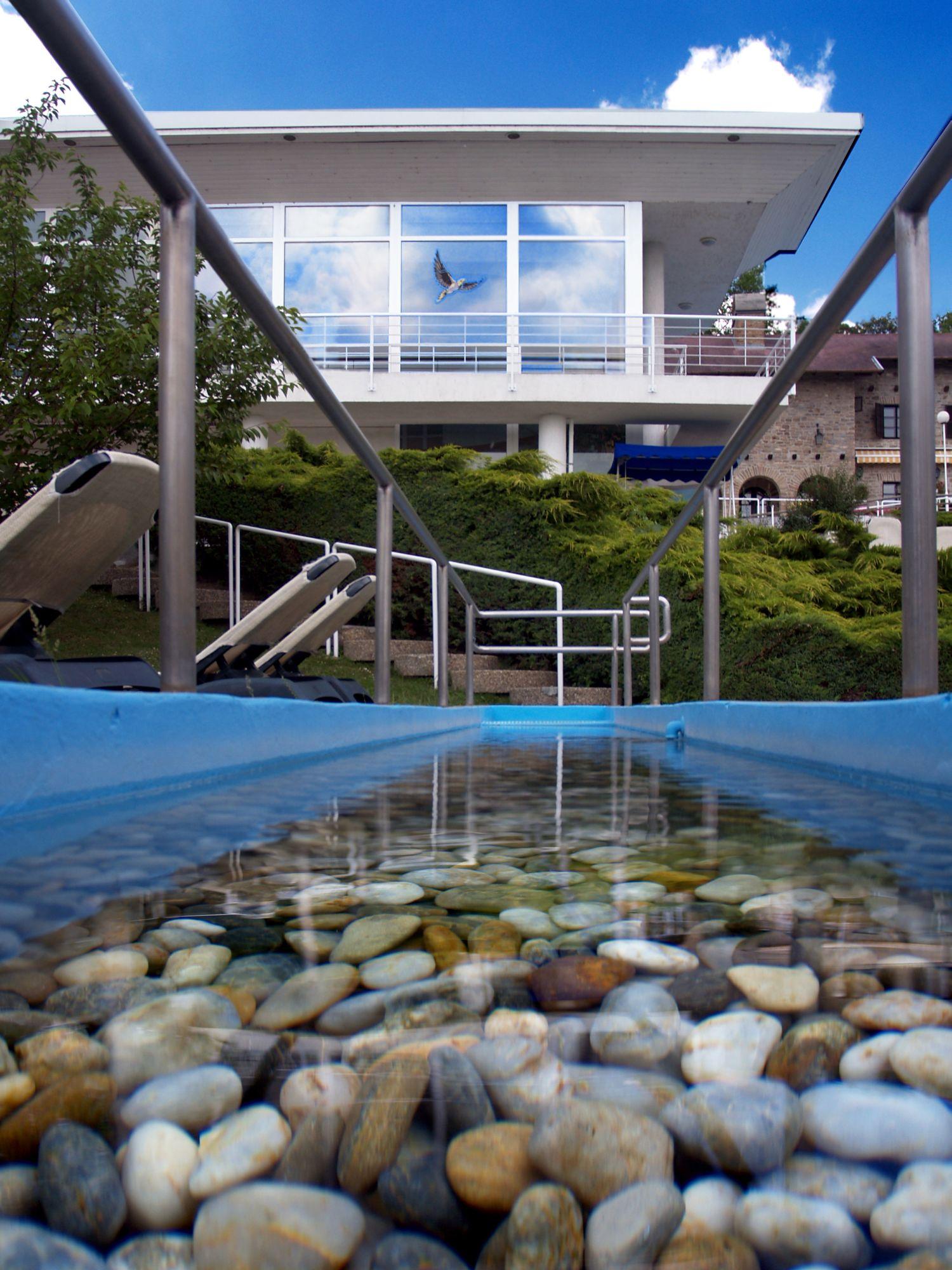 Kneipp taposó Medence a Danubius Health Spa Resort Aqua-ban