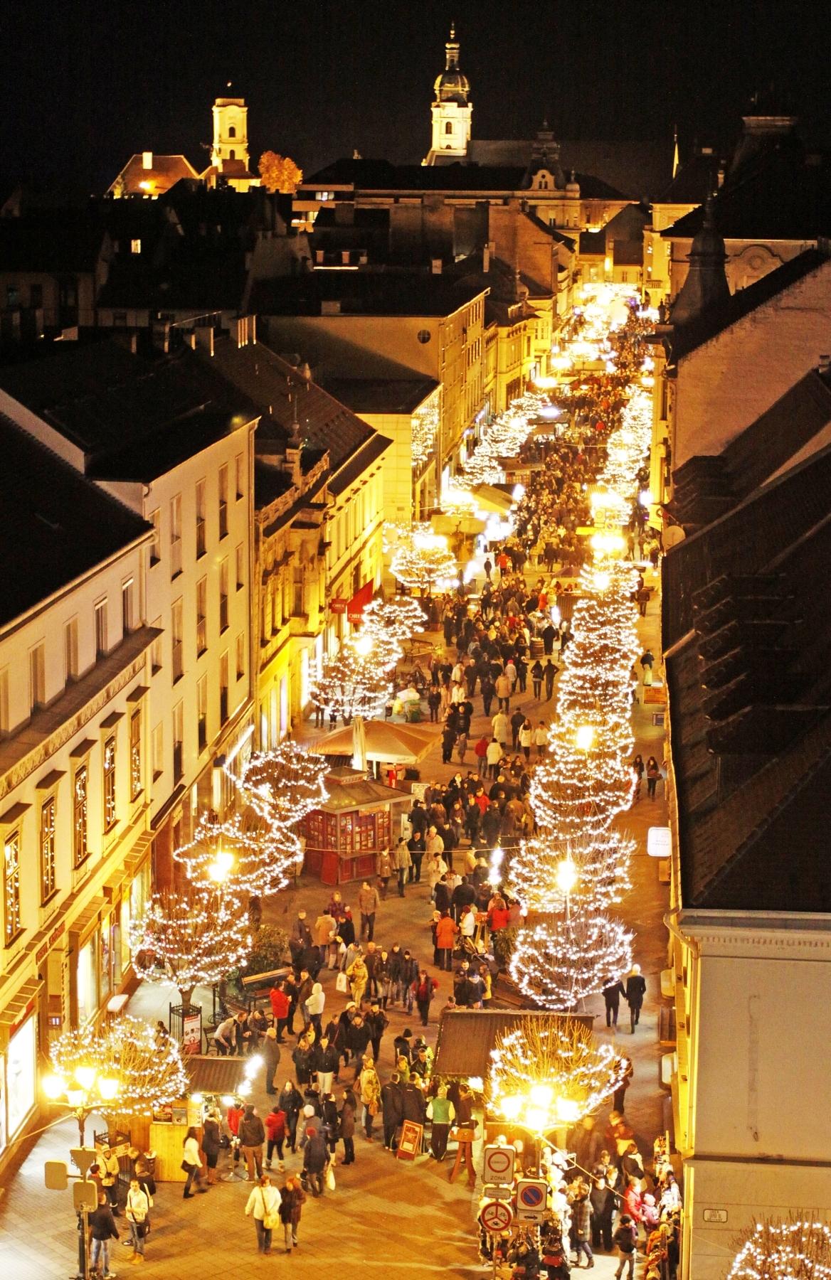Győri adventi vásár 2016