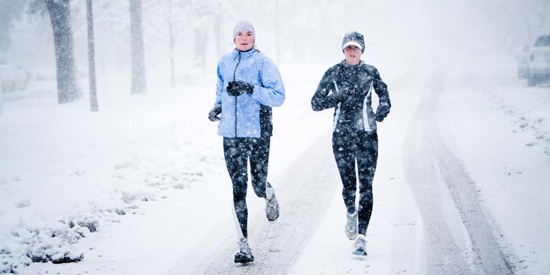 Téli futás Sárváron