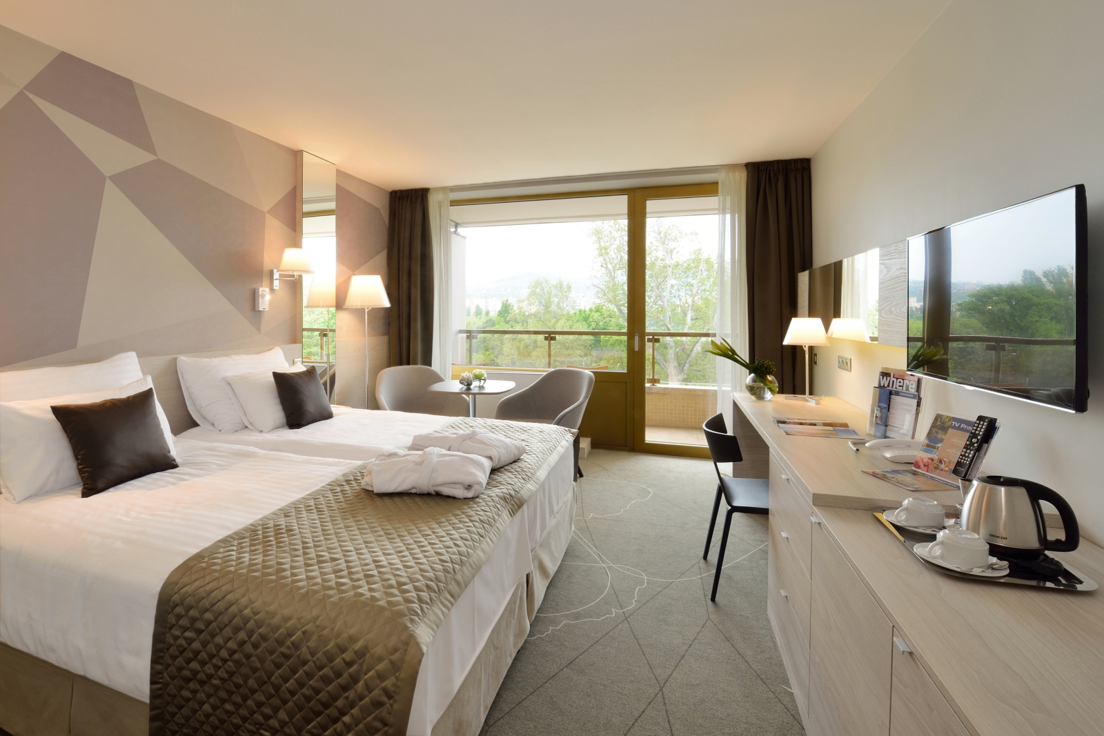 Danubius Health Spa Resort Margitsziget új szoba