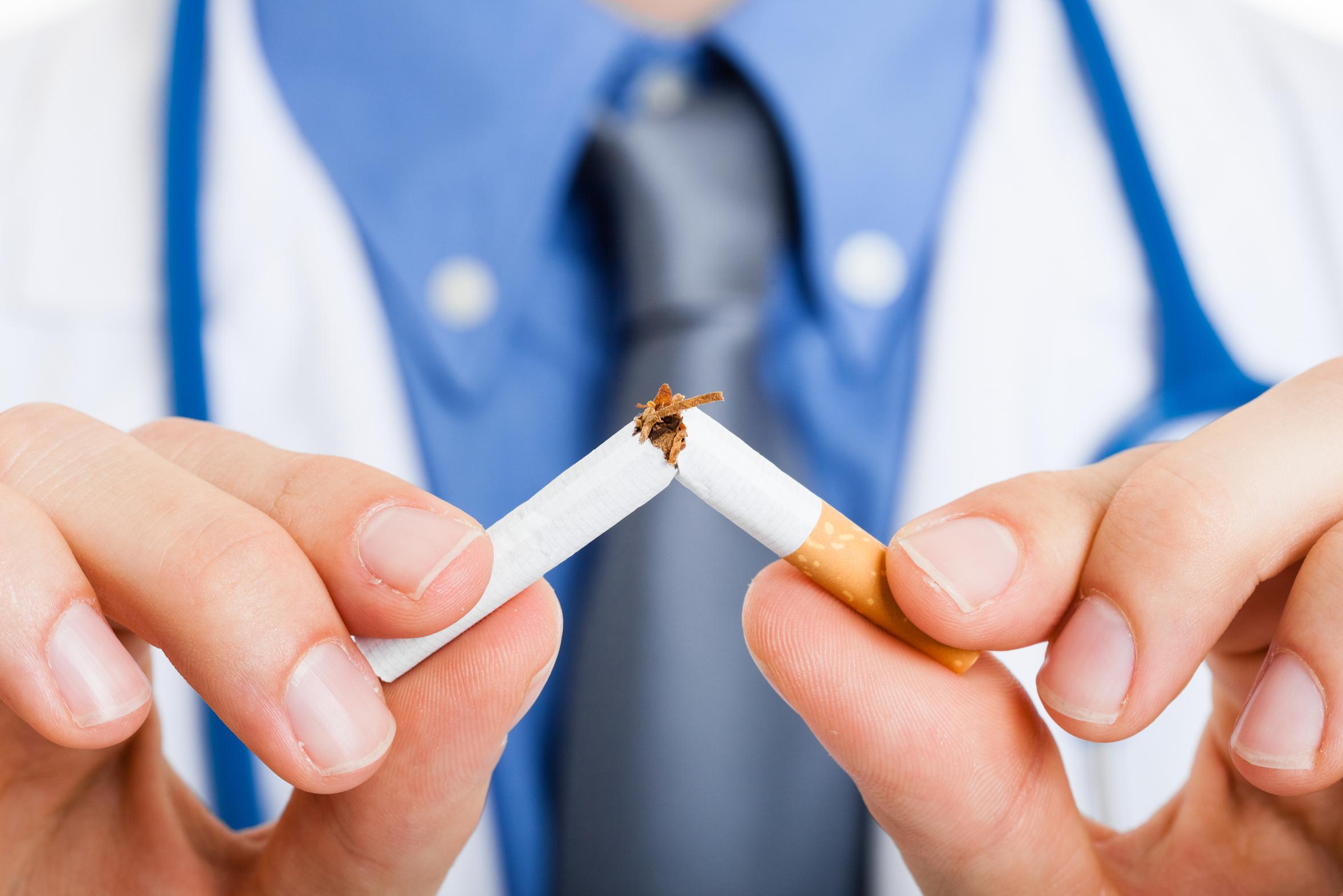 dohányzásról való leszokás