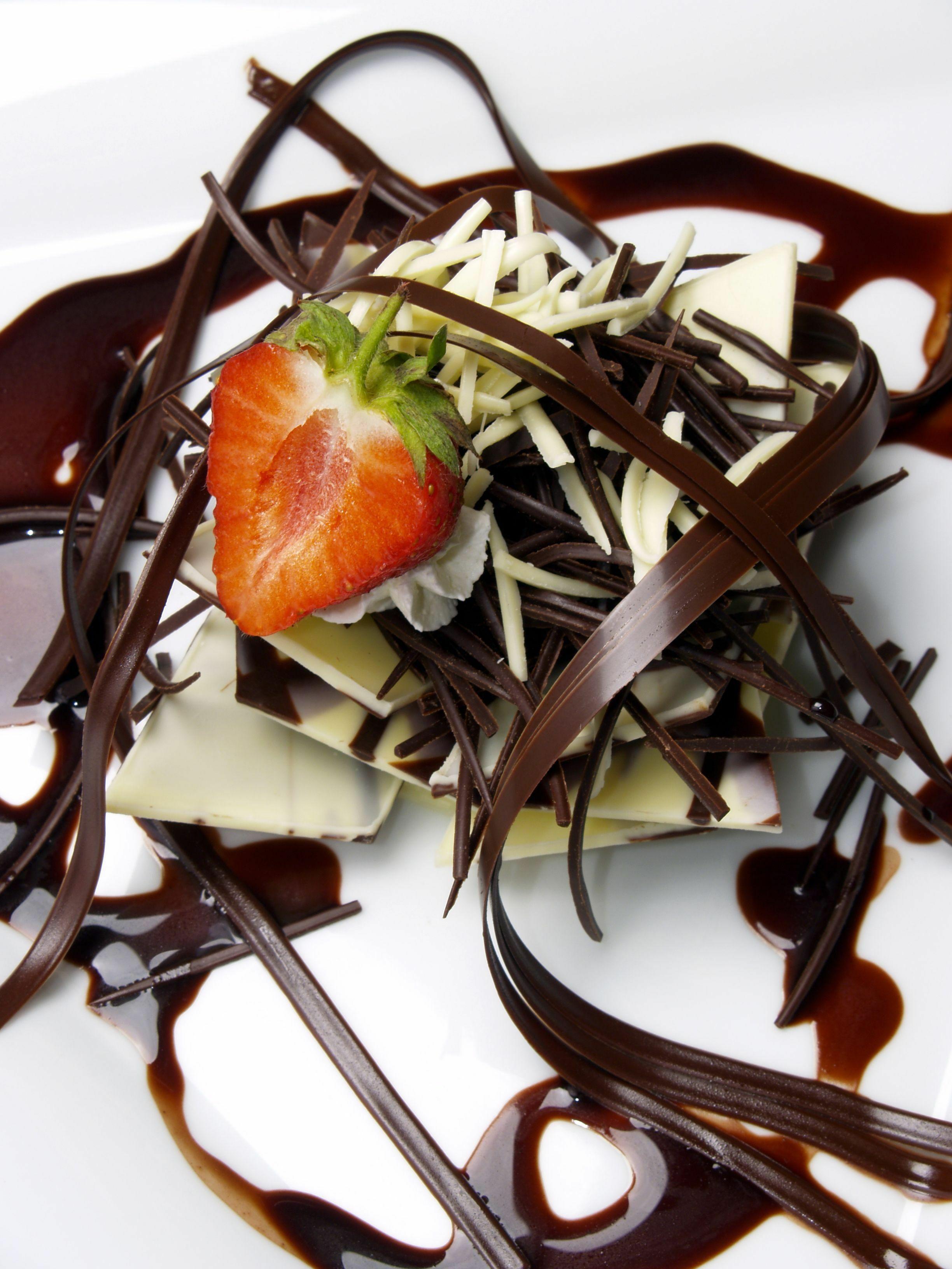 Eper és csokoládé