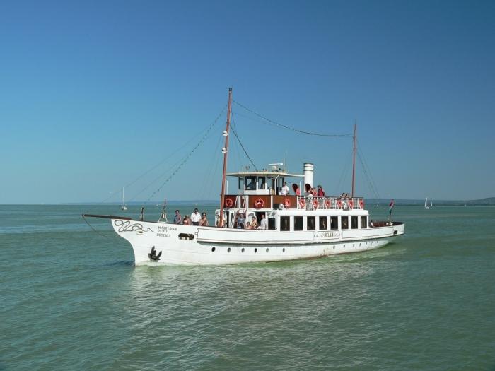 Balatonfüred hajókázás