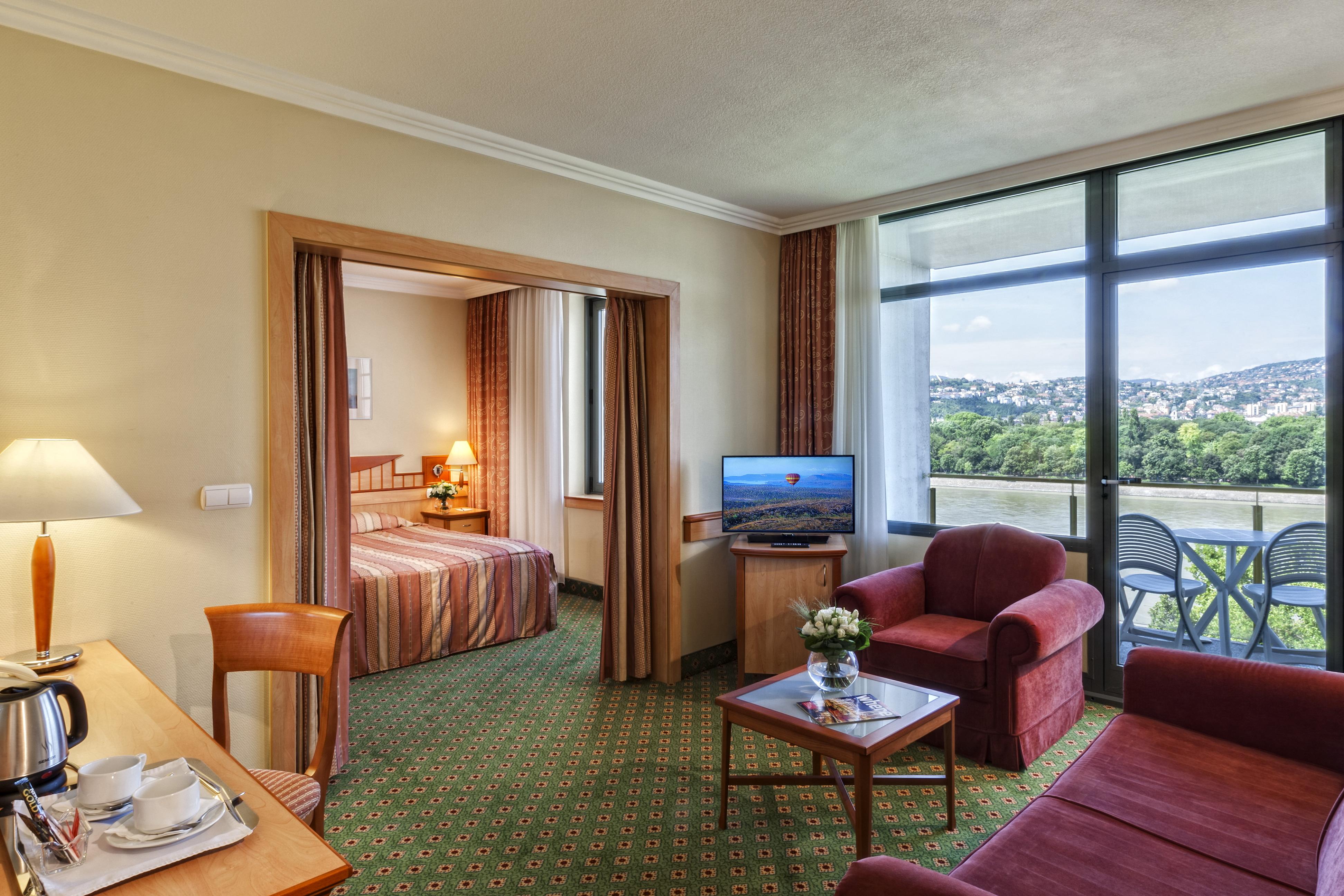Danubius Hotel Helia apartman kilátással