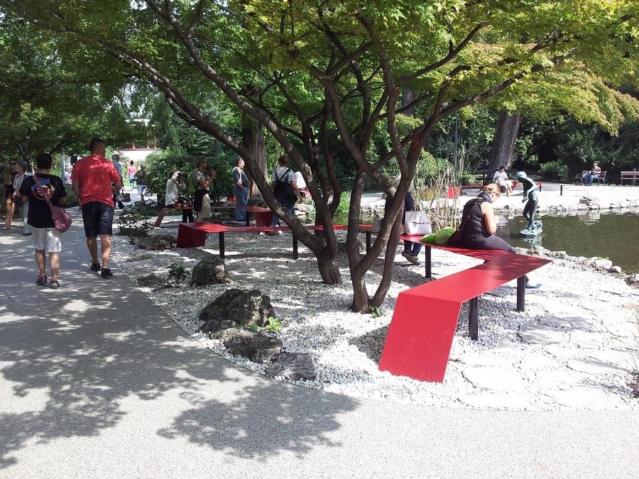 Margitsziget, Japánkert