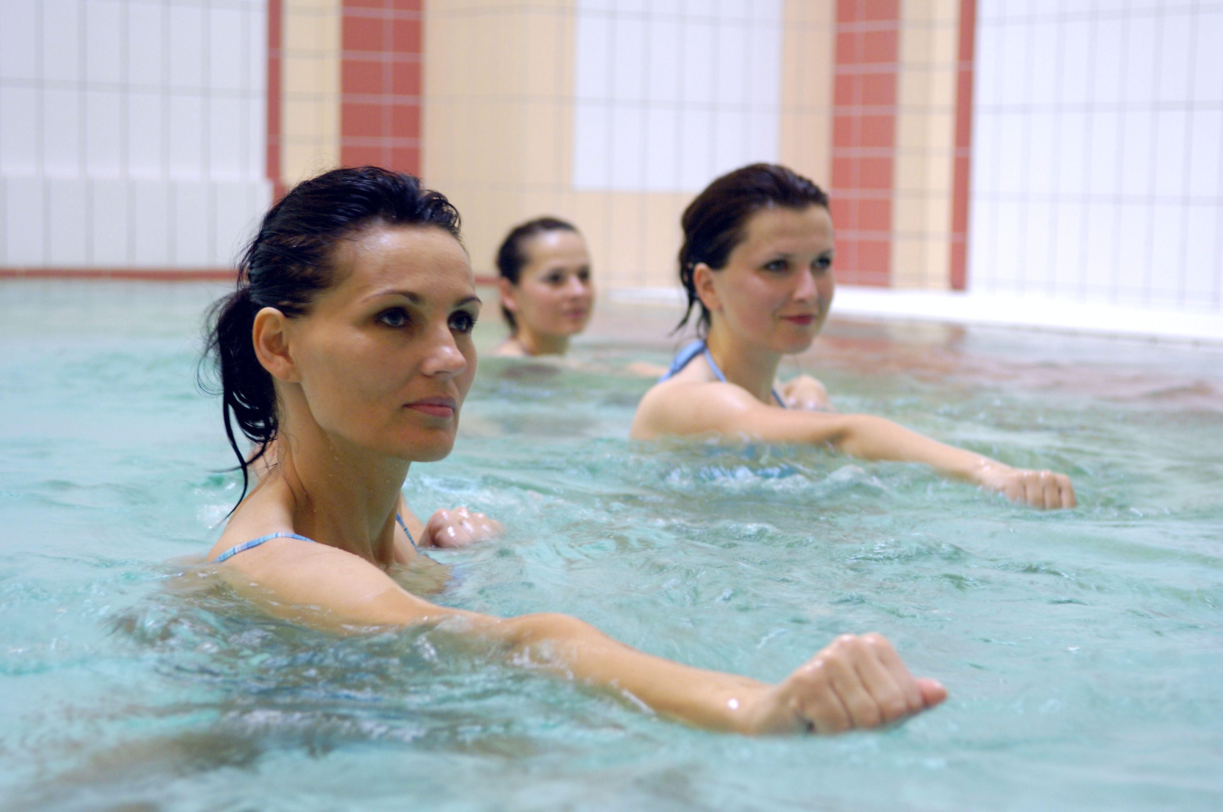 Vízitorna, aqua fittness