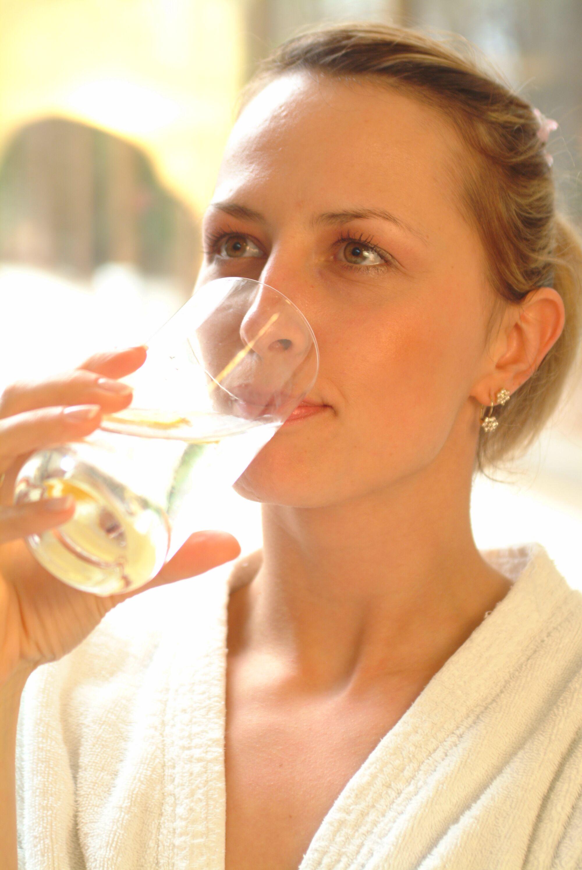 Margitszigeti gyógyvíz, ivókúra