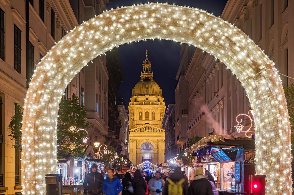 Adventi vásár Budapesten
