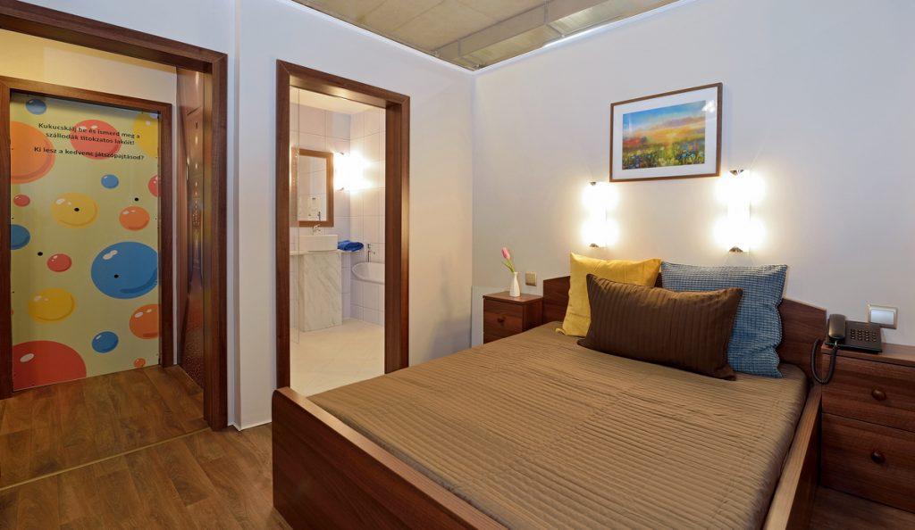 mini hotelszoba