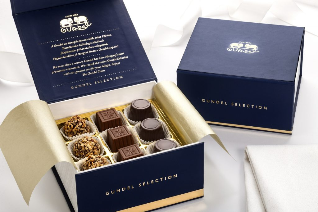 Édesség ajándékba a Gundel Selection