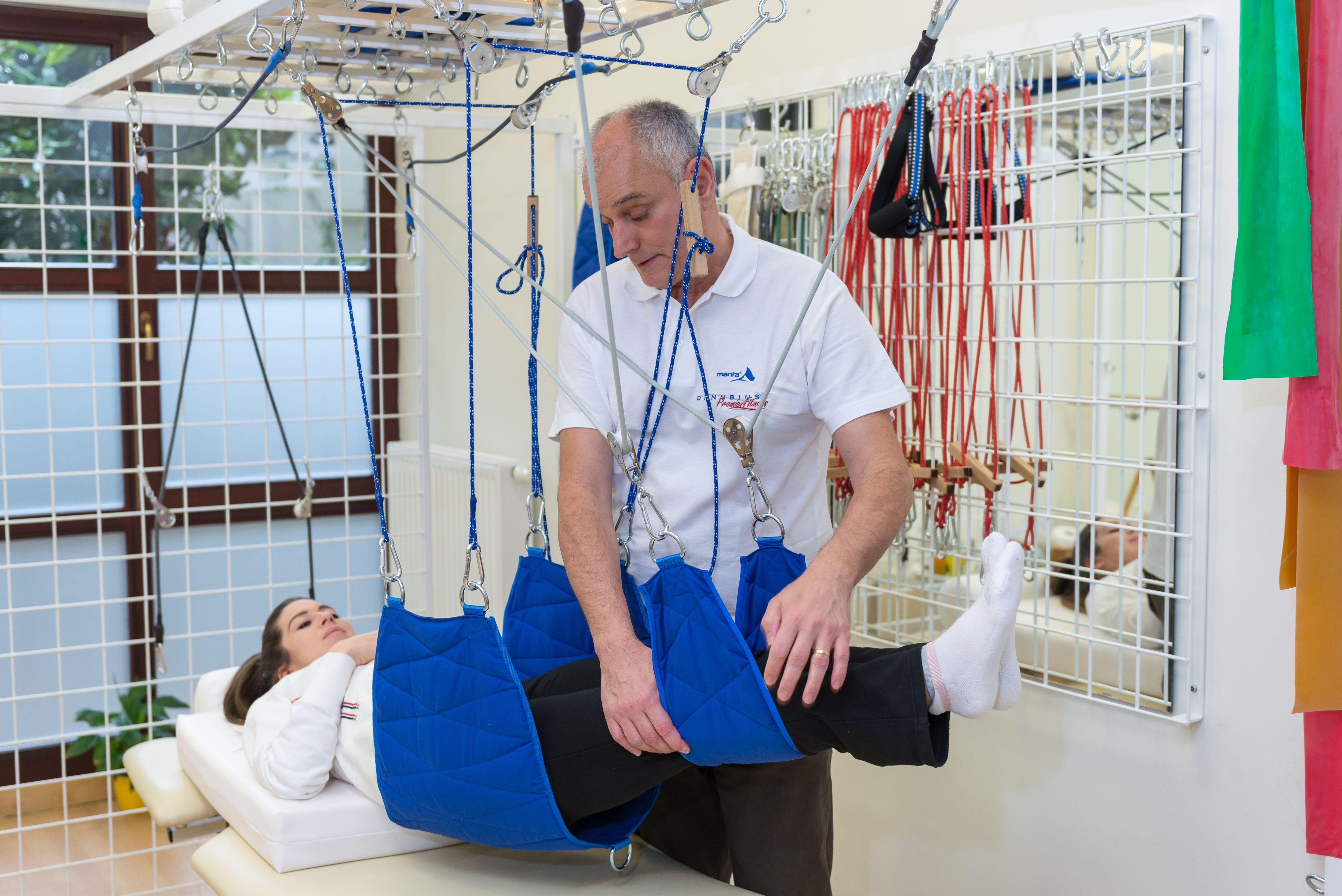 Függesztőrács kezelés, spa, gyógyászat