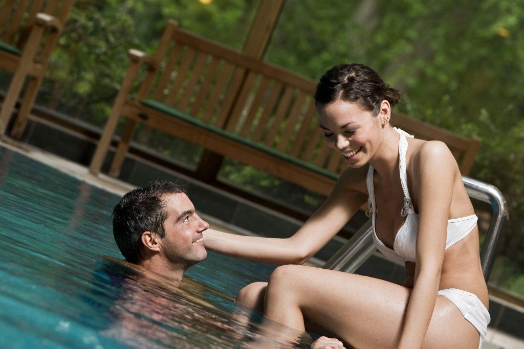 Romantika a vízben