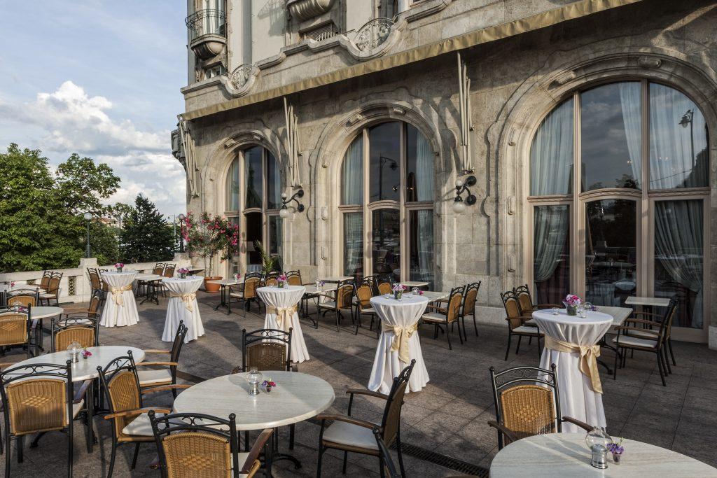 Gellért Hotel Panoráma terasz