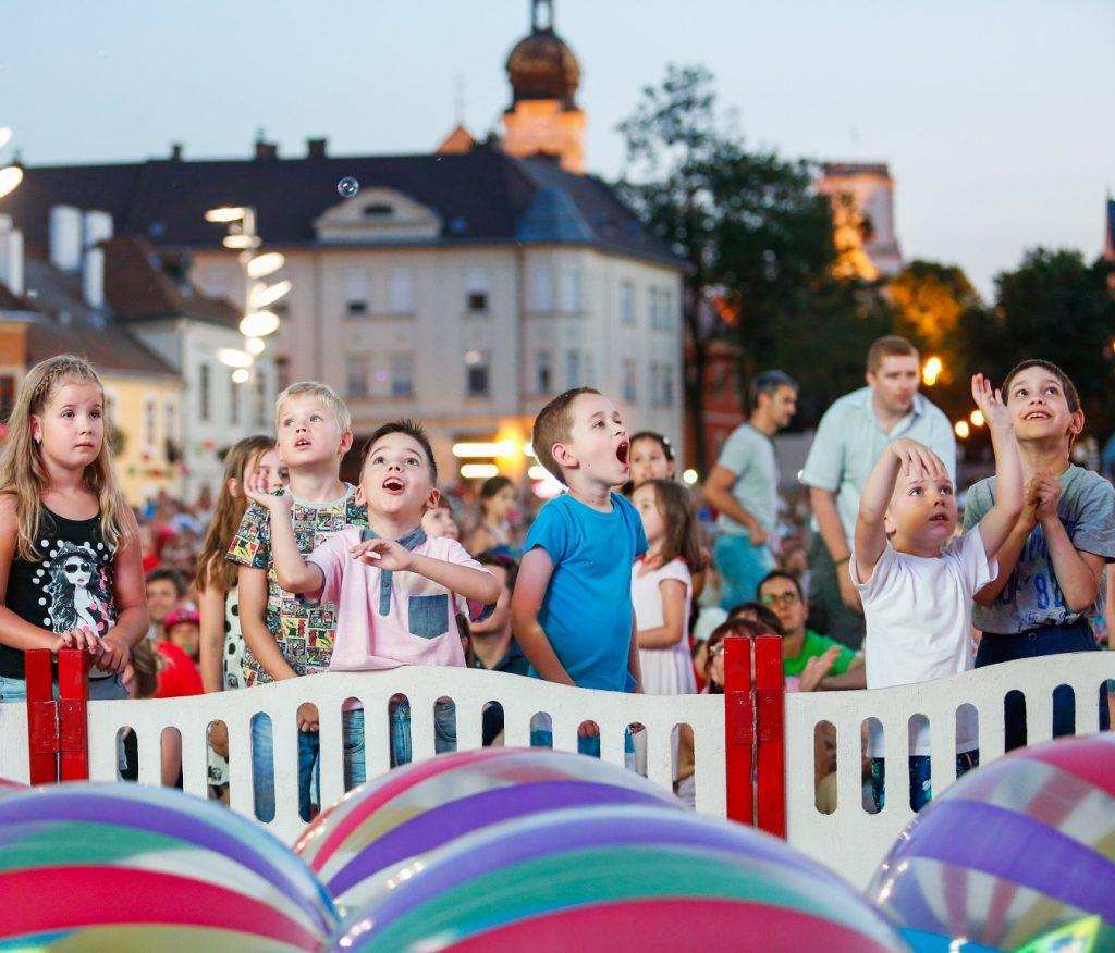 gyerekprogramok a Győrkőcfesztiválon