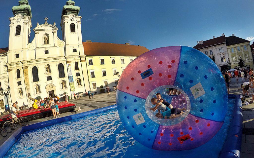 Győr a gyerekeket is élményekkel várja