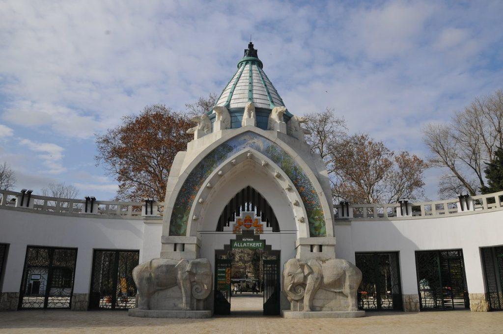 Fővárosi Állatkert bejárata