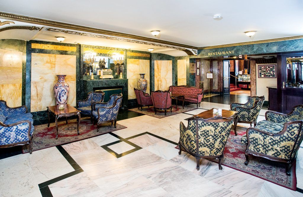 Danubius Hotel Astoria lobby