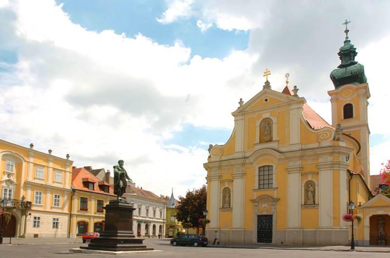 Karmelita templom, Győr