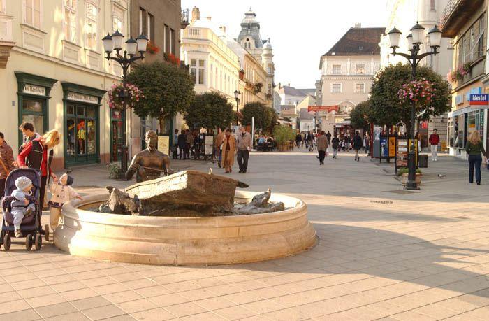 Sétálóutca Győr