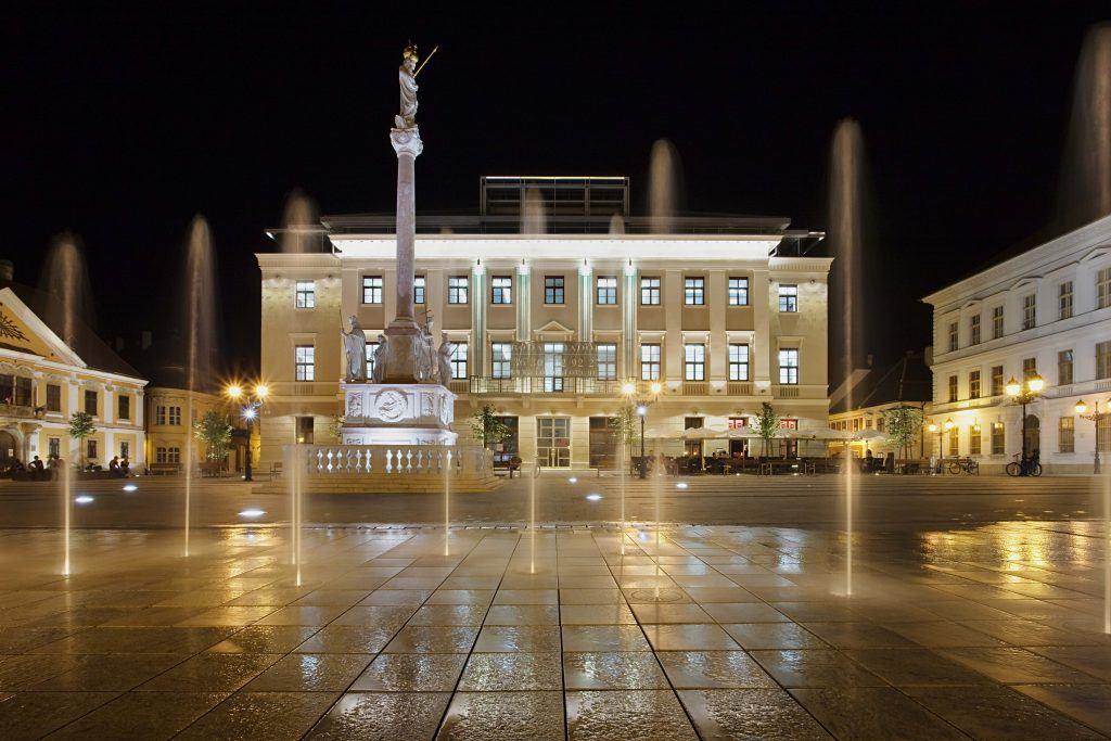 Széchenyi tér Győr