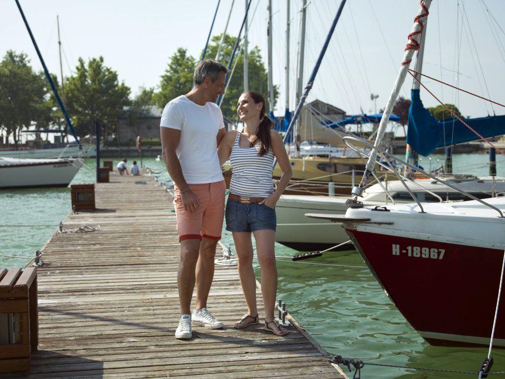 Balatonfüred, kikötő