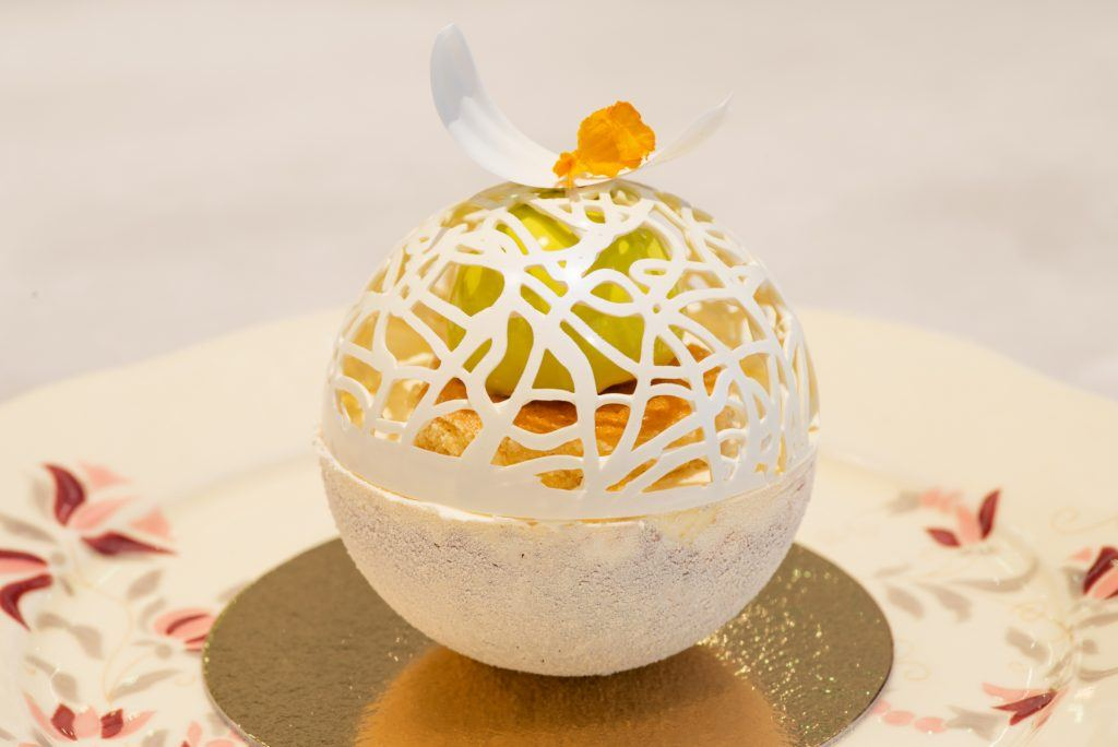 The Globe - a Zsolnay Kávéház új süteménye