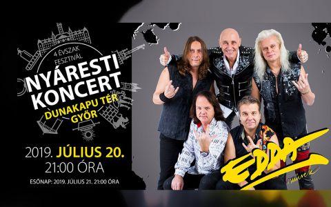 Edda koncert Győrben