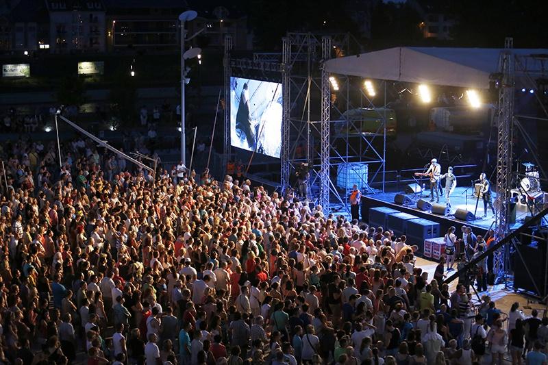 Koncert a Dunakapu téren