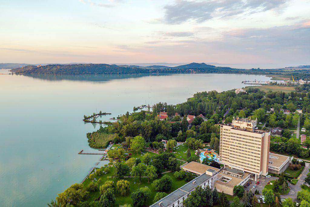 Balatonfüred, Hotel Marina madártávlatból