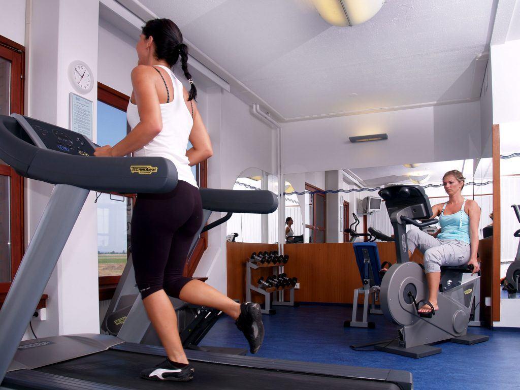 fitness stúdió, Danubius Hotel Bük