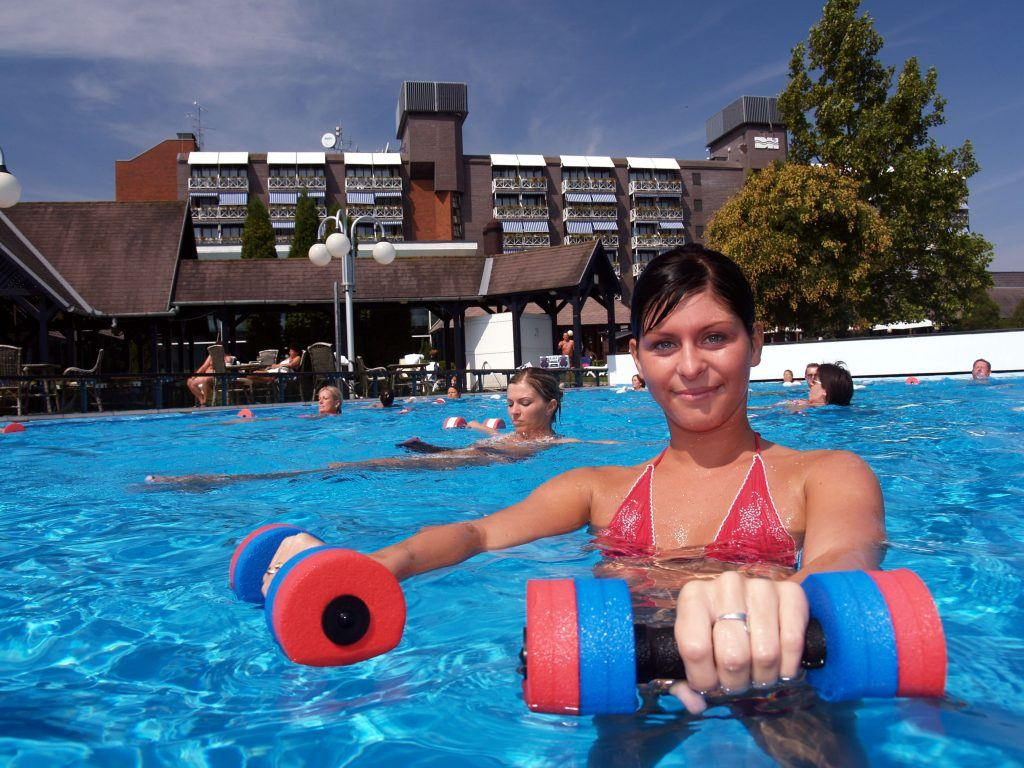 aqua jogging, Danubius Hotel Bük