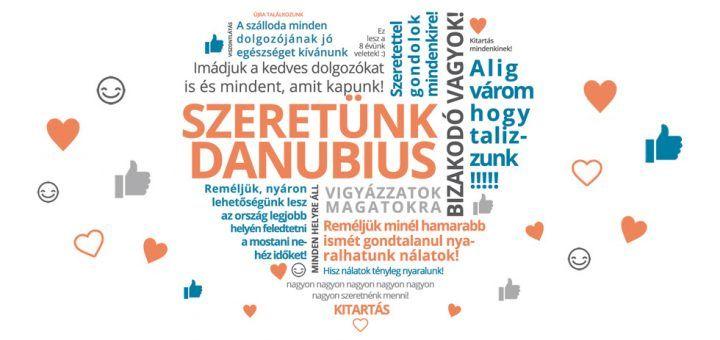 Köszönet a Danubius Hotels-től