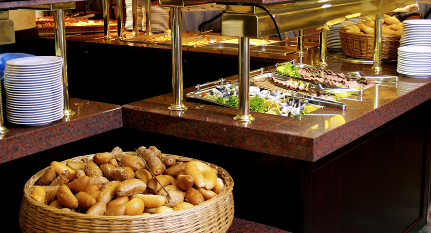 Buffettisch - Hotel Hungaria City Center - hotel Budapest