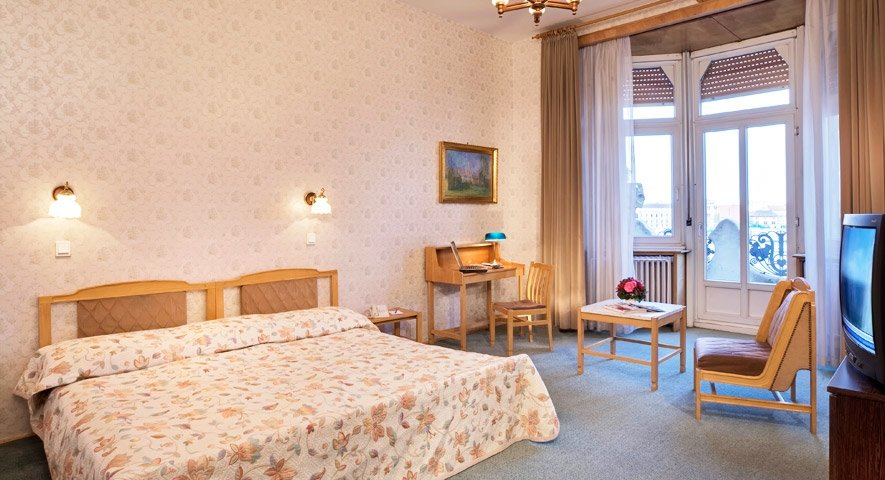 Standard+double+room - Danubius+Hotel+Gell%C3%A9rt+ - hotel Budapest
