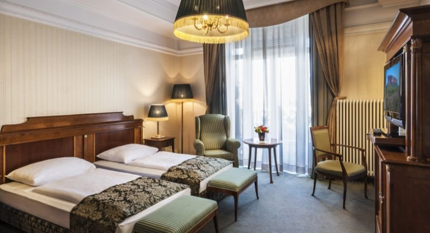Superior+Twin+Room - Danubius+Hotel+Gell%C3%A9rt+ - hotel Budapest