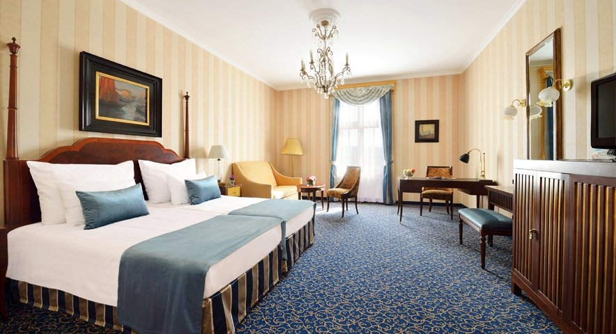 Chambre+Deluxe - Danubius+Grand+Hotel+Margitsziget - hotel Budapest