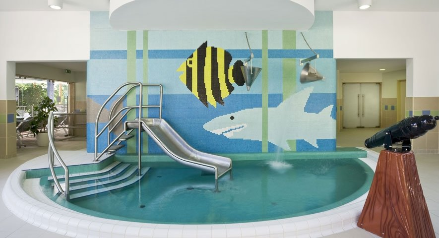 Children's pool - Danubius Health Spa Resort Aqua - hotel Hévíz
