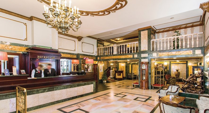 Reception - Danubius+Hotel+Astoria+City+Center - hotel Budapest
