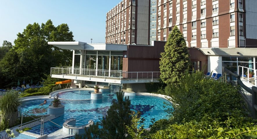 Adventure pool - Danubius Health Spa Resort Aqua - hotel Hévíz