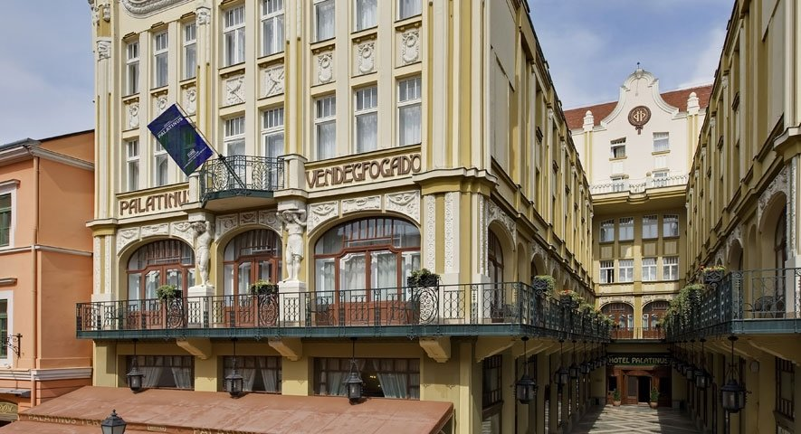 Hotel Palatinus - Hotel Palatinus City Center - hotel Pécs