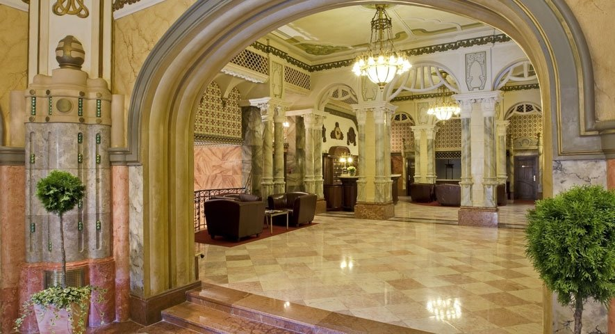 Lobby - Hotel+Palatinus+City+Center+ - hotel P%C3%A9cs