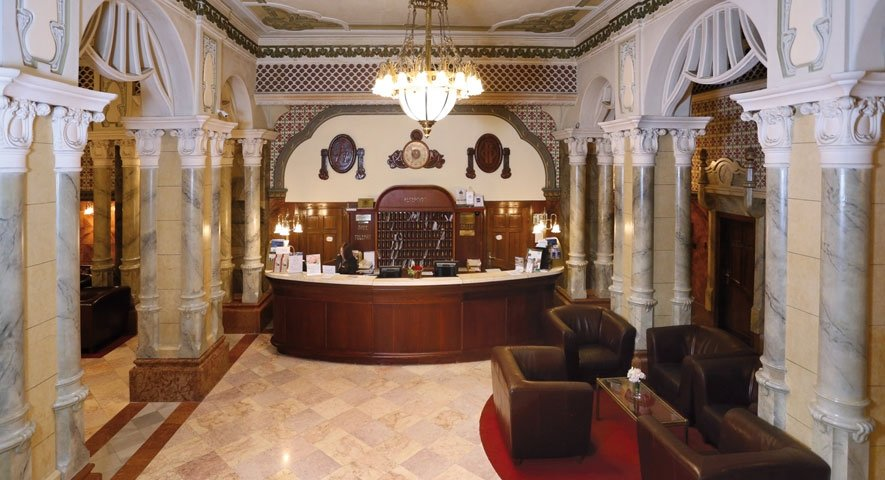Reception - Hotel+Palatinus+City+Center+ - hotel P%C3%A9cs