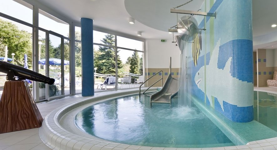 Kids pool - Danubius Health Spa Resort Aqua - hotel Hévíz