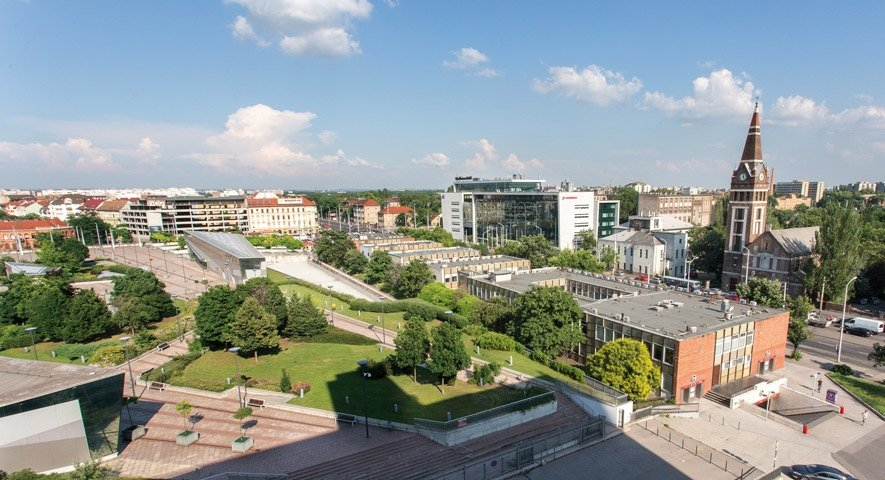 View+from+Hotel - Danubius+Hotel+Arena - hotel Budapest