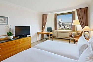 Twin Deluxe room with Danube river view